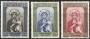 Serie sellos Vaticano 0234-36.III Cent.  Virgen de Czestochowa
