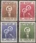 Serie sellos Vaticano 0237-40. Cent. muerte San Domingo Savio