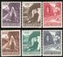 Serie sellos Vaticano 0251-56. Cent. apariciones de Lourdes