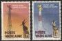 Serie sellos Vaticano 0280-81. Radio Vaticano