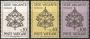 Serie sellos Vaticano 0380-82. Sede Vacante