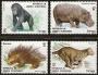 Sellos Guinea Ec. 039-42.Fauna