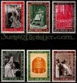 Serie sellos Vaticano 0457-62. Clausura Concilio Vaticano II
