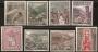 Serie sellos Andorra 060-67. Tipos diversos