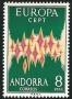 Serie sellos Andorra 072. Europa
