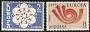 Serie sellos Andorra 085-86. Europa
