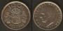 Monedas. 100 pesetas S/C (flor hacia reverso)