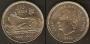 Monedas. 100 pesetas S/C (flor hacia anverso)