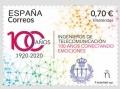 22. Sello Efemérides. Ingenieros de Telecomunicaciones 2021