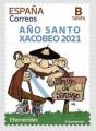 30. Sello Año Santo Xacobeo 2021