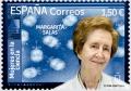 43. Sello Mujeres ciencia. Margarita Salas