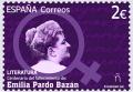 54. Sello Emilia Pardo Bazán