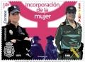 64. Sello Mujer en la Policia 2020