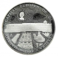 Año 1992. Moneda 25 Ecus - Madrid Capital Europea Cultura
