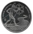 Año 2002. Moneda 10 euros. Juegos Olimpicos Invierno