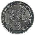 Año 2002. Moneda 10 euros. Presidencia Union Europea