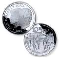 Año 2002. Moneda 10 euros. Menorca