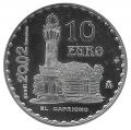 Año 2002. Moneda 10 euros. Gaudi - Capricho