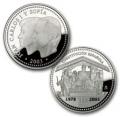 Año 2003. Moneda 10 Euros XXV Aniversario Constitución