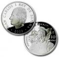 Año 2003. Moneda 10 Euros - Miguel Lopez de Legazpi