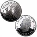 Año 2004. Moneda 10 euros. Programa Europa - Ampliación UE