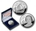 Año 2006. Moneda 10 Euros - Cristobal Colon - Niña