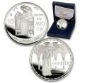 Año 2007. Moneda 10 euros. Cantar de Mío Cid