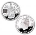 Año 2008. Moneda 10 Euros. Alfonso X El Sabio