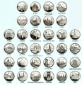 Año 2010-12. Colección 52 Monedas 5 Euros. Capitales Provincia