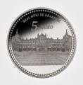 Año 2014.Moneda 5€ Patrimonio Nacional Aranjuez