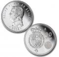 Año 2014. Moneda 30€ Felipe VI - Escudo de España