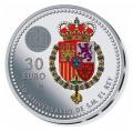 Año 2018. Moneda 30€ Felipe VI - 50 Aniversario