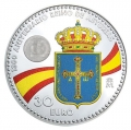 Año 2018. Moneda 30€ Felipe VI - Leonor