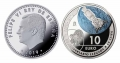 Año 2019. Moneda 10€ Llegada del Hombre a la Luna -