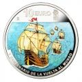Año 2019. Moneda 10€ V Centenario Vuelta al Mundo