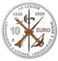 Año 2020. Moneda 10€ Centenario de la Legion