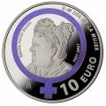 Año 2021. Moneda 10€ Emilia Pardo Bazán - Dia de la mujer