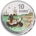 Año 2021. Moneda 10€ V Centenario Vuelta al Mundo 3ª