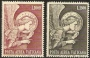 Serie sellos Vaticano Aéreo 53-54