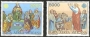Serie sellos Vaticano Aéreo 73-74