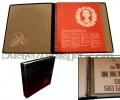 Album sellos Inglaterra G.B.E. con hojas. 1972/82