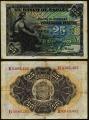 Billete 025 pesetas Banco España 1906 BC