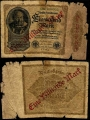 Billete Alemania 0001000 Marcos RC. 1922