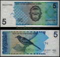 Billete Antillas Holandesas 5 Gulden S/C. 1 Mayo 1994