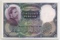 Billete Banco de España - Madrid 0050 pesetas 1931 SC TONALIZADO
