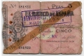 Billete Banco de España - Gijón 005 pesetas 1936 MC