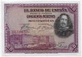 Billete Banco de España - Madrid 0050 pesetas 1928 SC PTO GRAPA
