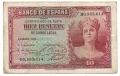 Billete Banco de España - Madrid 0010 pesetas 1935 MBC