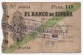 Billete Banco de España - Gijón 010 pesetas 1936 BC