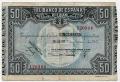 Billete Banco de España - Bilbao 0050 pesetas 1937 MBC